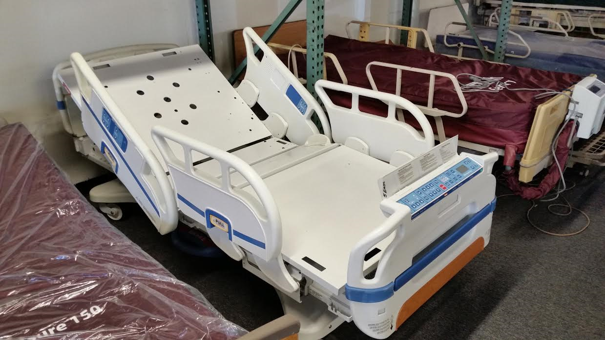 Used Stryker Secure 3 hospital bed - the best used bed for sale in USA