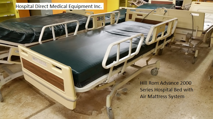 Hill Rom Advance 2000 Series Hospital Bed with Air Mattress 2