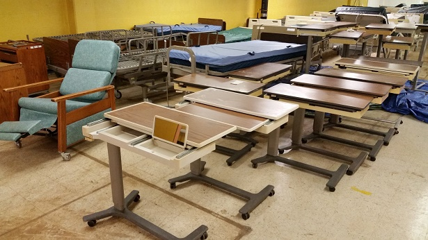 Hospital Closure Medical Equipment